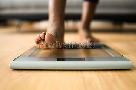 gewichtsverlust check nach dem training