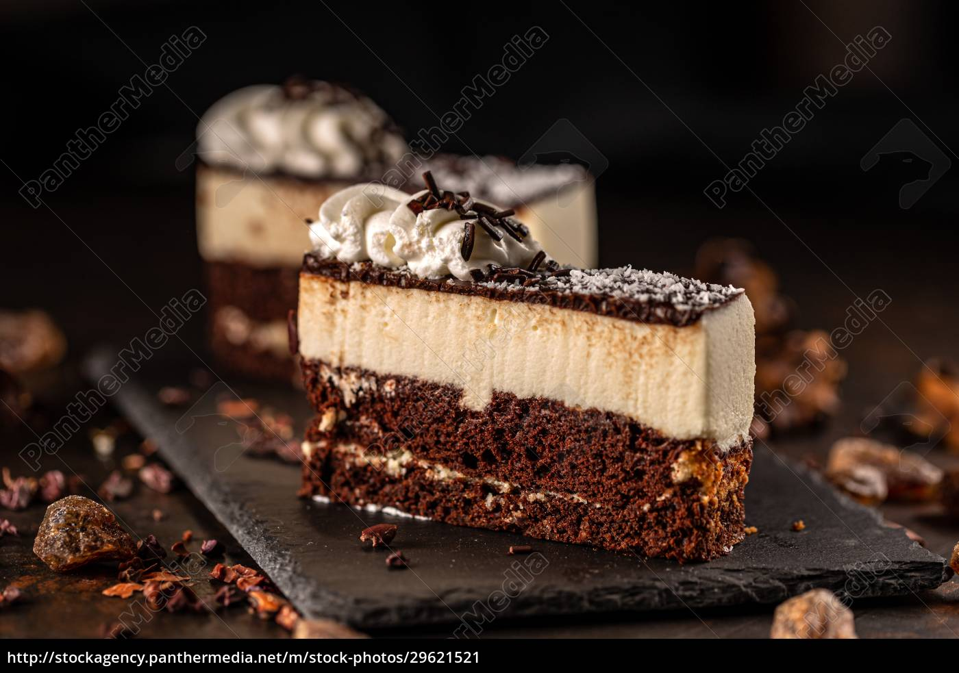 slice, of, delicious, mousse, cake - 29621521