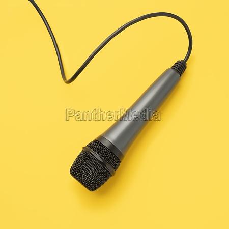 studioaufnahme des mikrofons