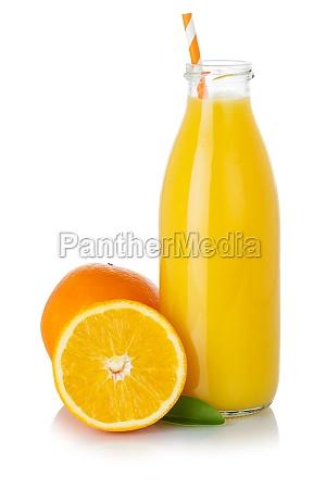 orangenfrucht smoothie saft trinken strohorangen in