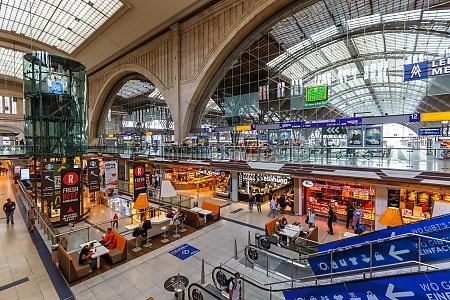 leipziger hauptbahnhof hauptbahnhof hbf in deutschland