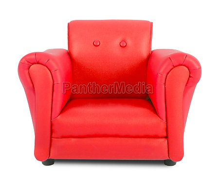 red, armchair - 29637257