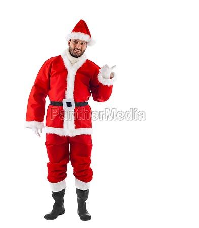 weihnachtsmann stehend