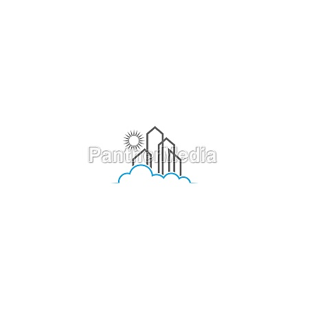 gebaeude eigentum haus logo symbol