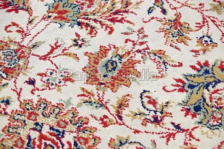 handgemachte gewebte teppich orientalische handwerk