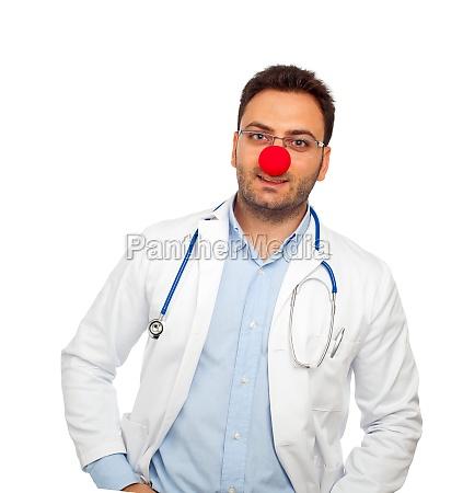 clown junger arzt