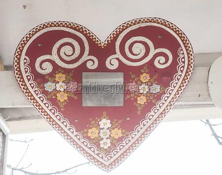 herz ein symbol der liebe und