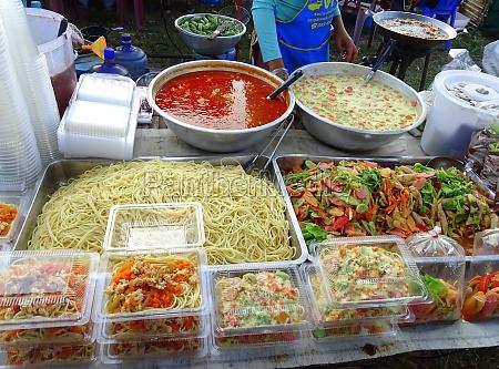 spagetti buffet