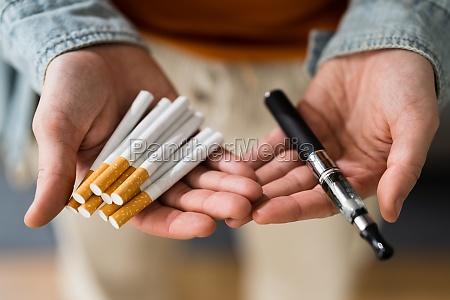rauchen tabak e zigarette
