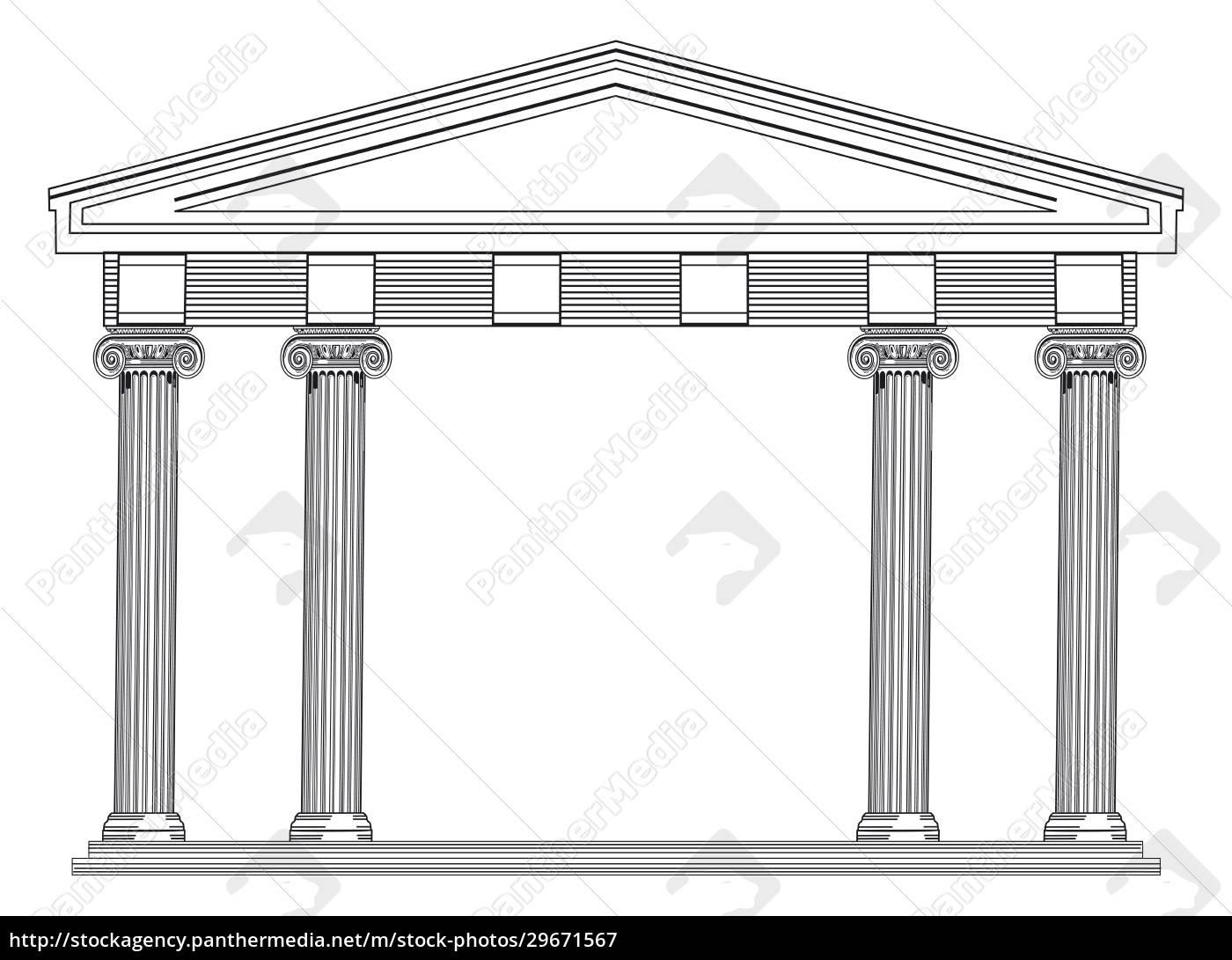 architectural, columns, , greek, and, roman, classics - 29671567
