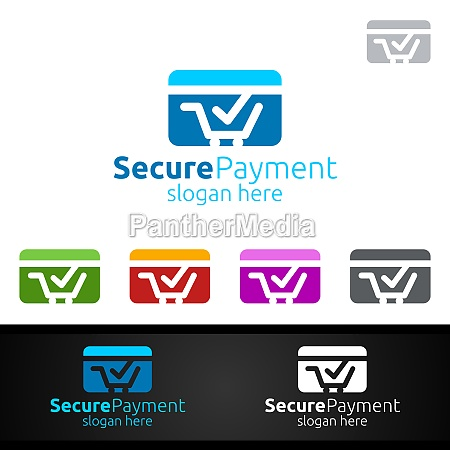 card online secure payment logo fuer