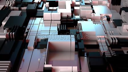 hintergrund der abstrakten technologie