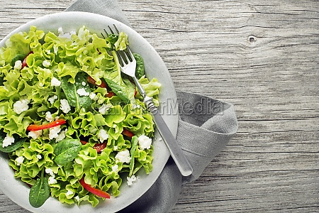 gruener salat