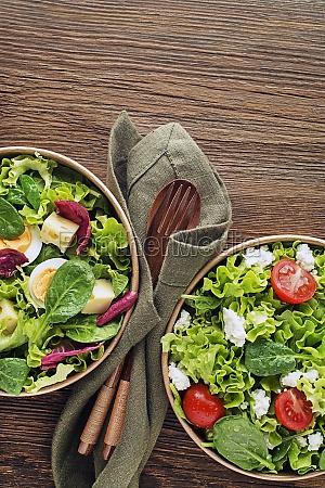 gruene salate