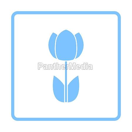 fruehling blume symbol