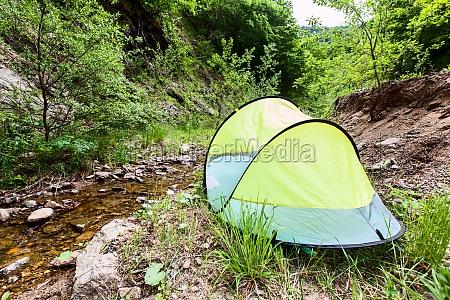 campingzelt natur