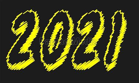 2021, blackboard, writing - 29683912