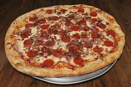 fleischliebhaber pizza