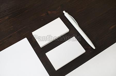 foto von leerem briefpapier