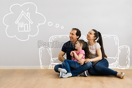 family dream and think plant to