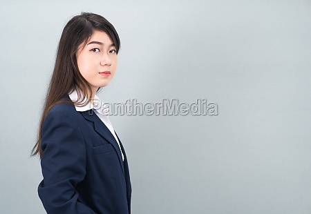 portrait, of, asian, business, woman, standing - 29699341