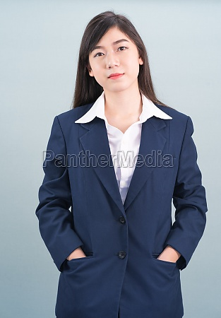 portrait, of, asian, businesswoman, isolated, on - 29699343