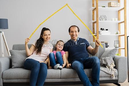 zukünftiges, familienhaus, dach - 29699535