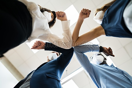 diverse, business, people, hands, stack., gemeinschaft - 29700059