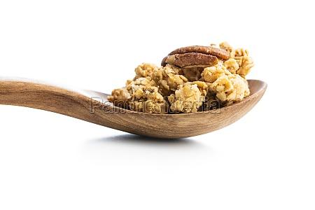 frühstücksflocken., morgen, granola. - 29709709