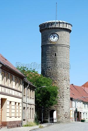 vogelturm in dahme mark deutschland