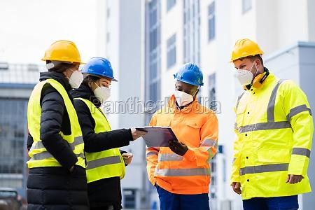 arbeitsingenieur oder sicherheitsinspektor