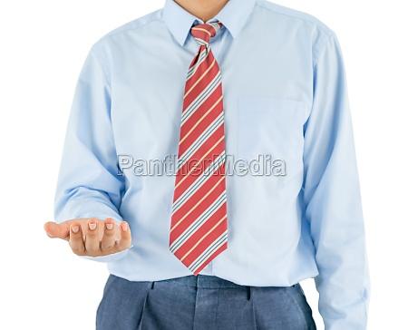 mann tragen langarm shirt stehend im