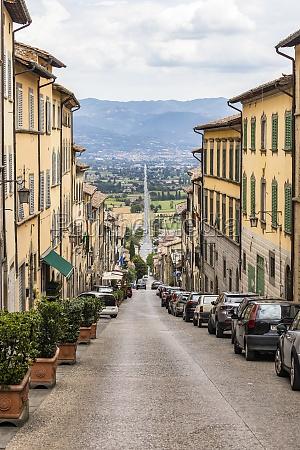 anghiari, mittelalterliches, dorf, arezzo, toskana, italien - 29722646
