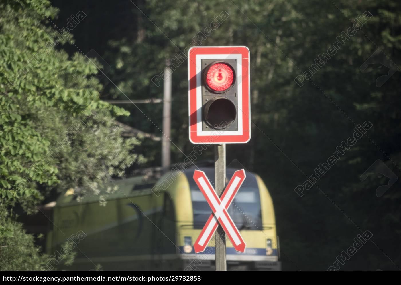 bahnübergang, im, zugverkehr - 29732858