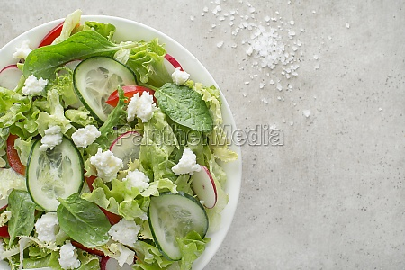salat frischkaese quark