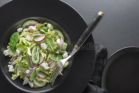 salat frischer quark