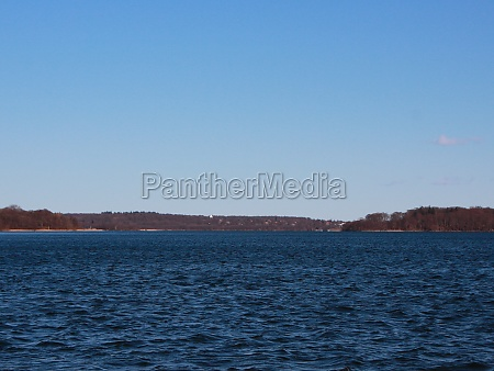 dark, blue, large, lake, with, small - 29745828