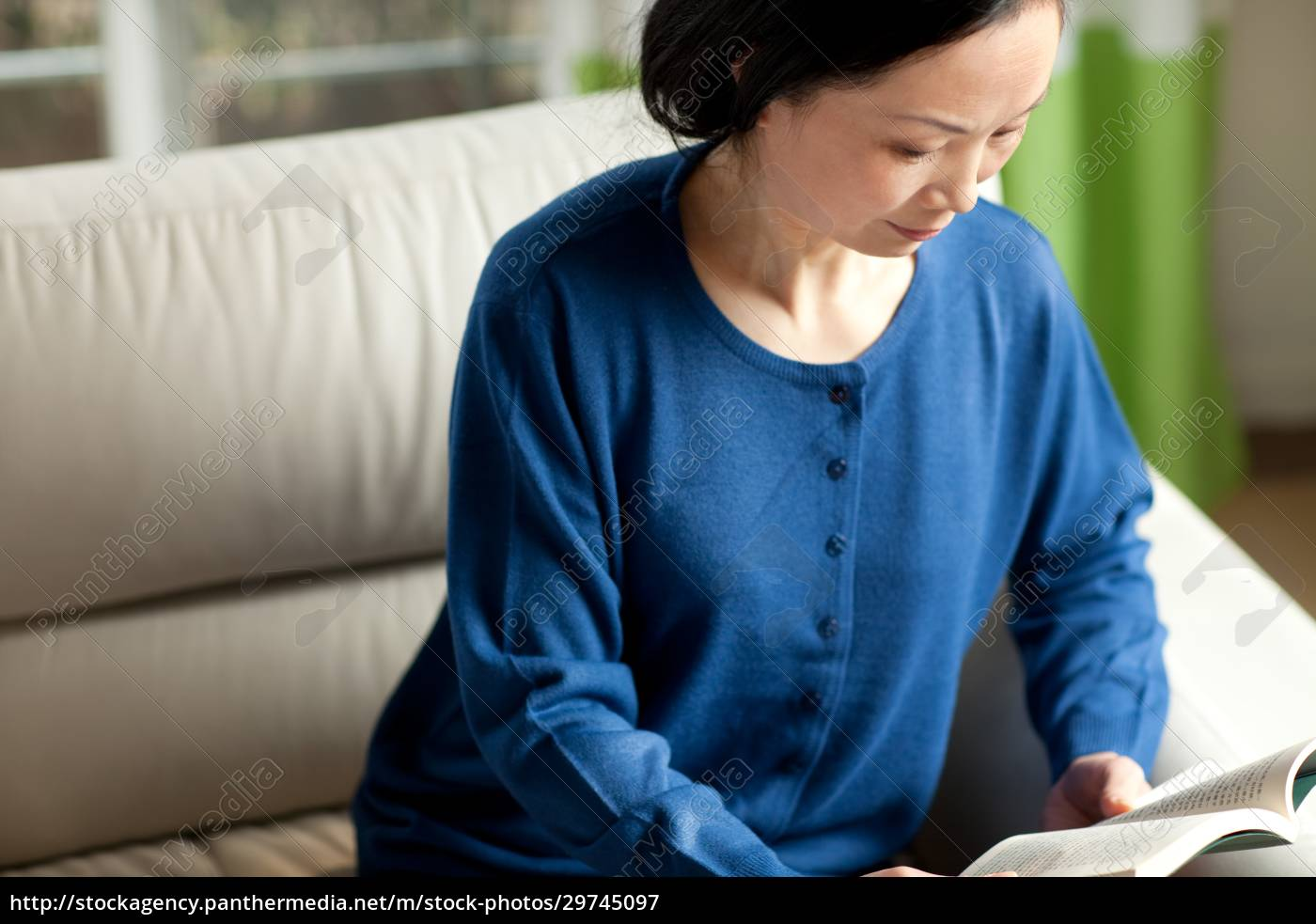 senioren, lesen, 60, +, asiaten, indoor - 29745097