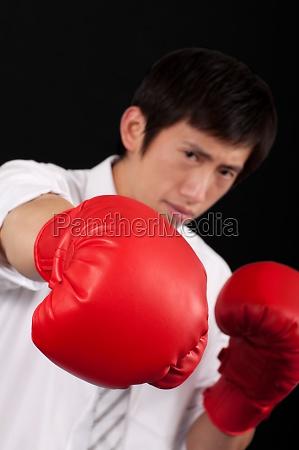 oriental boxing vitality protection UEbung ein