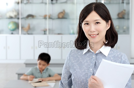 ein lehrer der vorlesungen haelt