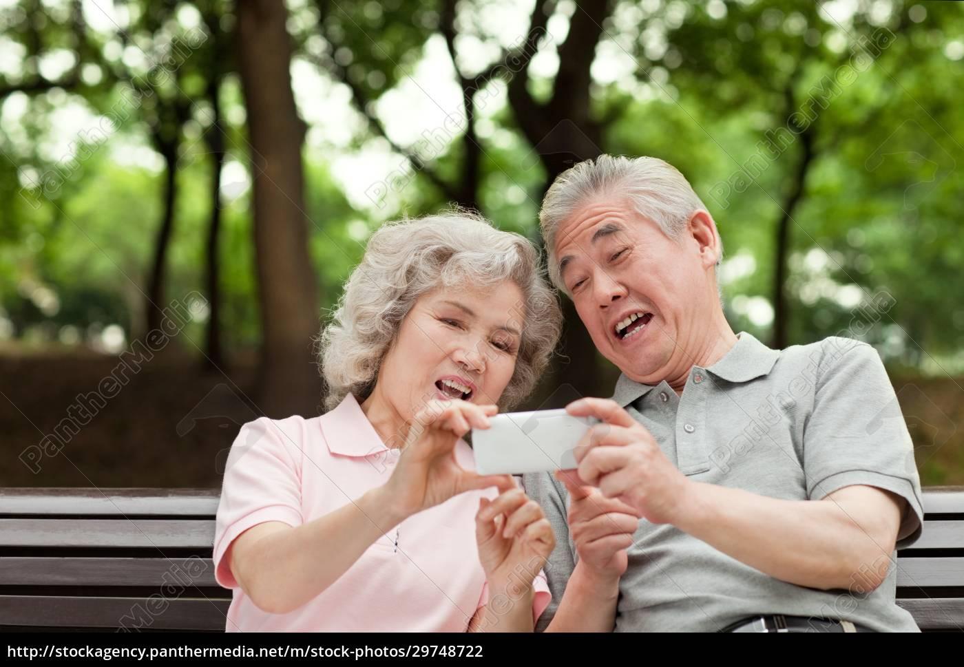 digitales, leben, älterer, menschen - 29748722