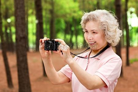 digitales, leben, älterer, menschen - 29748930