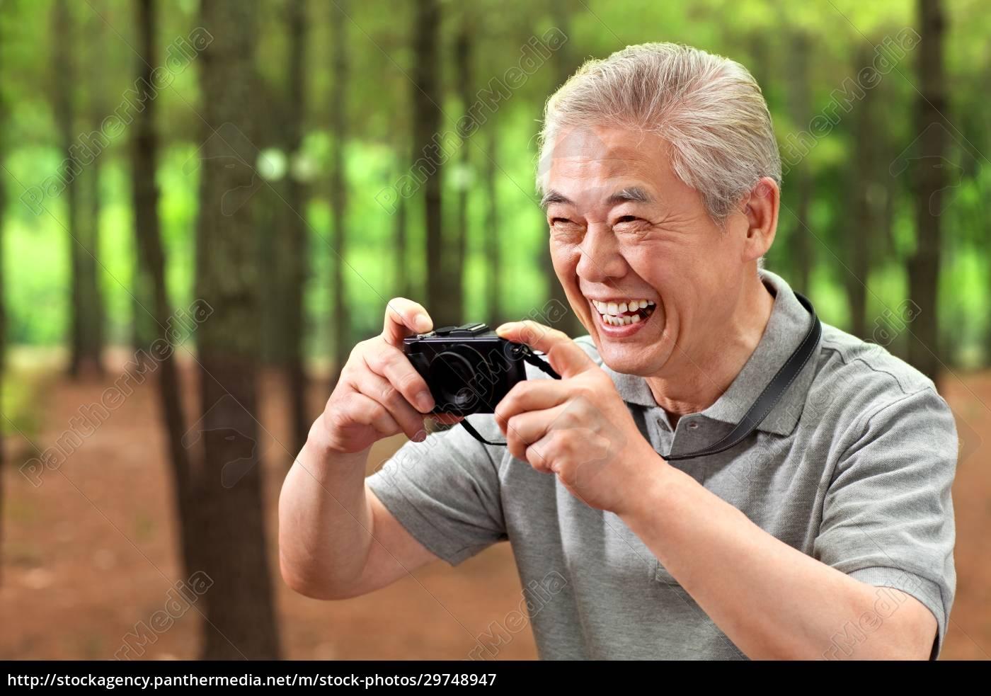 digitales, leben, älterer, menschen - 29748947