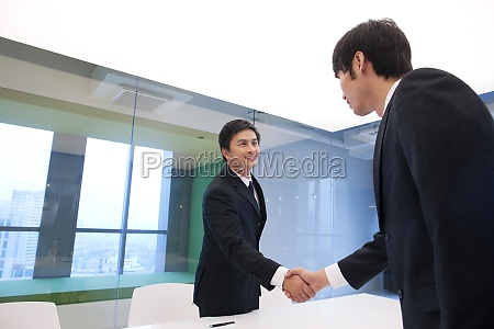 business, people, interview - 29749497