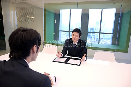 business, people, interview - 29749512