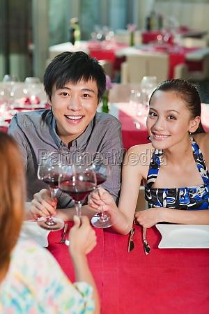 chinesisches abendessen im restaurant