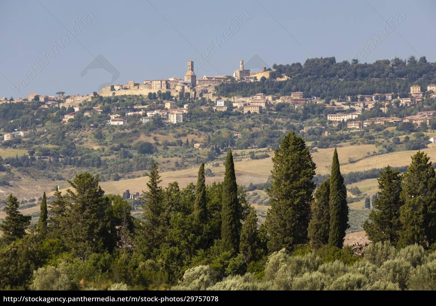 olivengarten, und, volterra, in, der, toskana, italien - 29757078