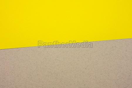 grau gelbepappe papier hintergrund kopierraum