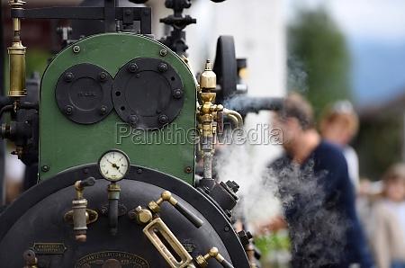 detail, einer, dampfmaschine, auf, dem, bauernmarkt - 29766823