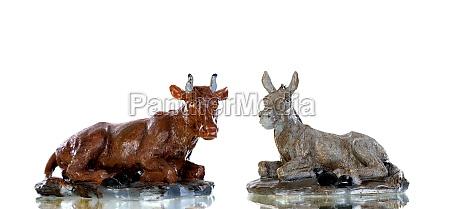 animals, present, in, the, nativity, scene - 29776734